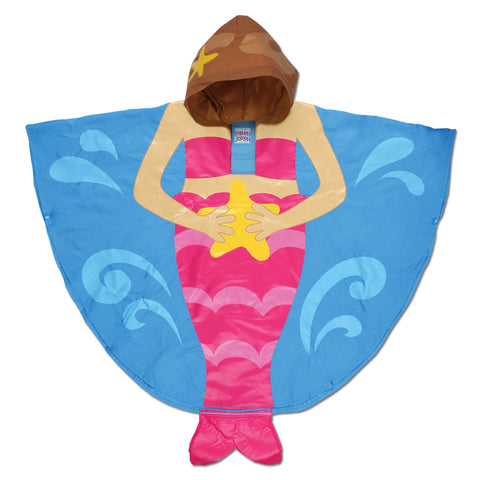 Stephen Joseph Kids Mermaid Rain Poncho
