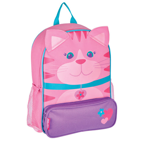 Kids Backpack - Cat Sidekick - Stephen Joseph