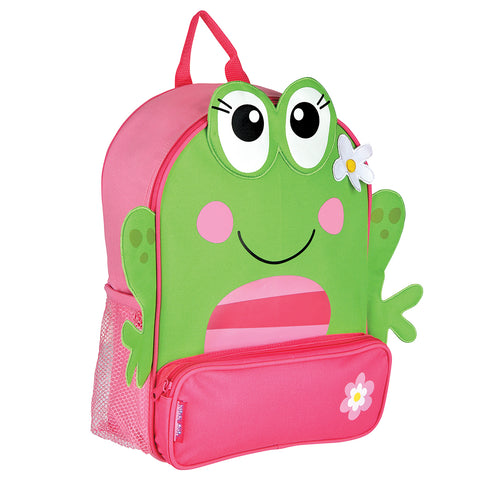 Stephen Joseph Kids Frog Girl Sidekick Backpack