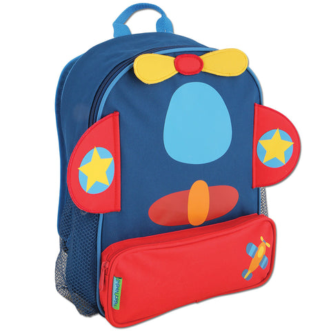 Stephen Joseph Kids Aeroplane Sidekick Backpack