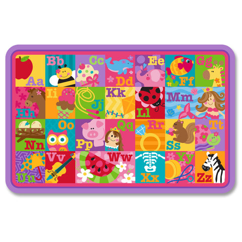 Stephen Joseph Kids ABC Girl Placemat