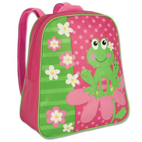 Stephen Joseph Kids Frog Girl Go Go Backpack