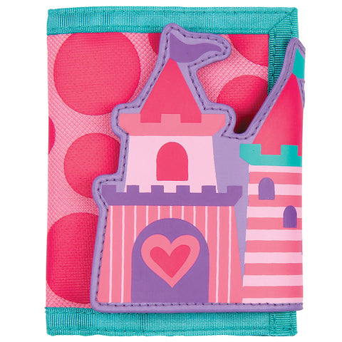 Stephen Joseph Kids Princess Castle Wallet
