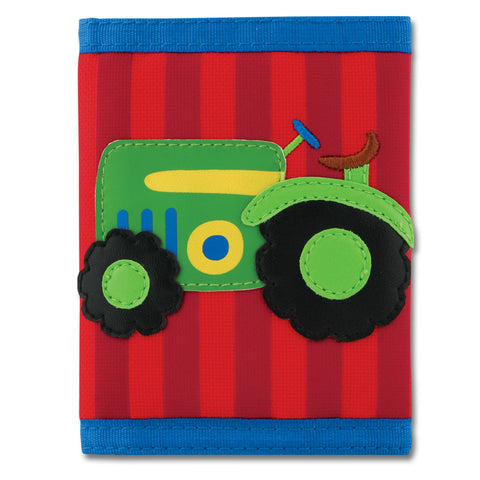 Stephen Joseph Kids Farm Boy Tractor Wallet