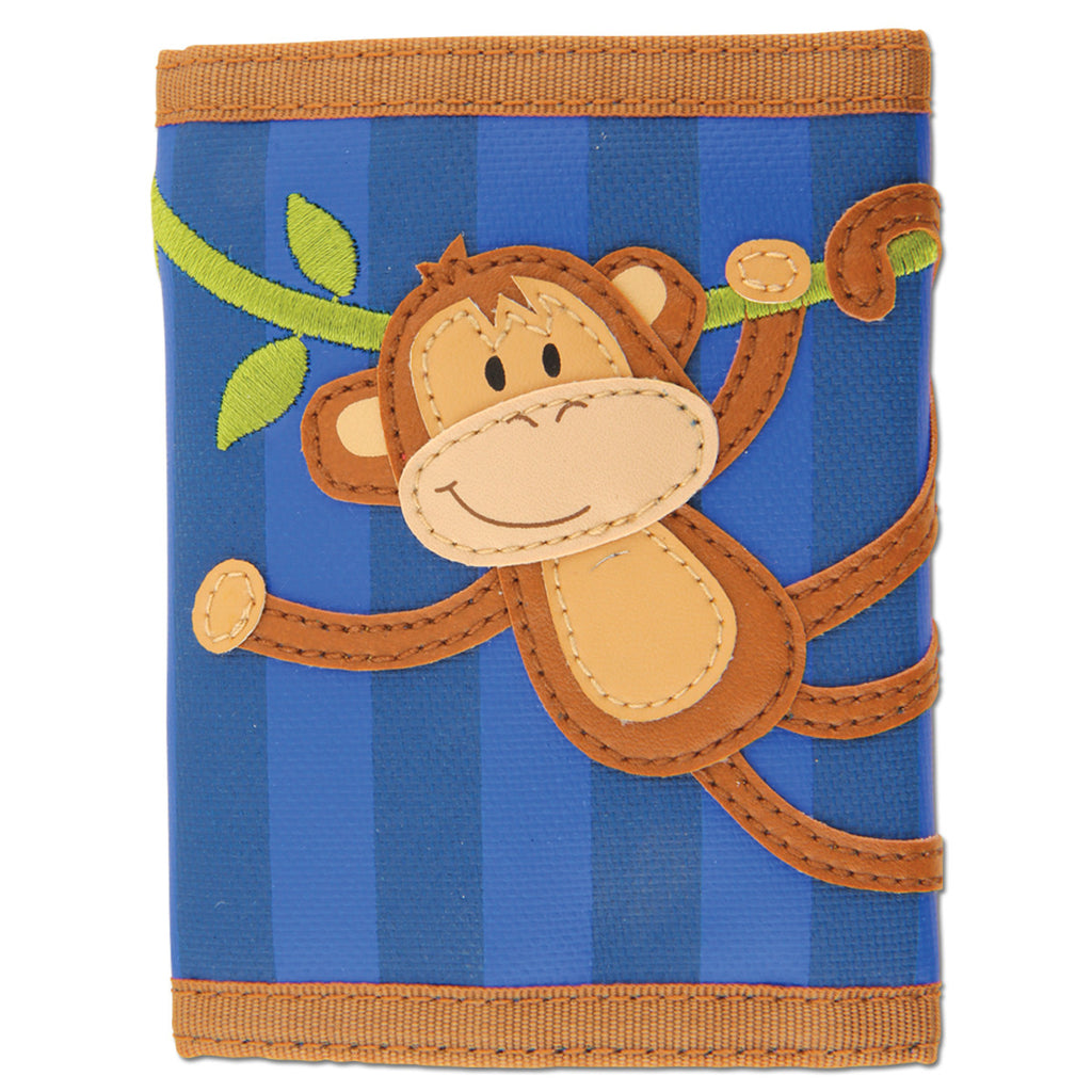 Stephen Joseph Kids Monkey Wallet