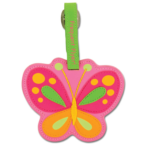Stephen Joseph Kids Butterfly Luggage Tag