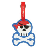 Pirate Luggage Tag
