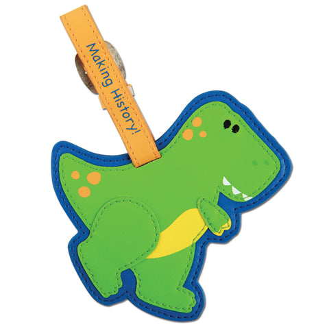 Stephen Joseph Kids Dino Luggage Tag