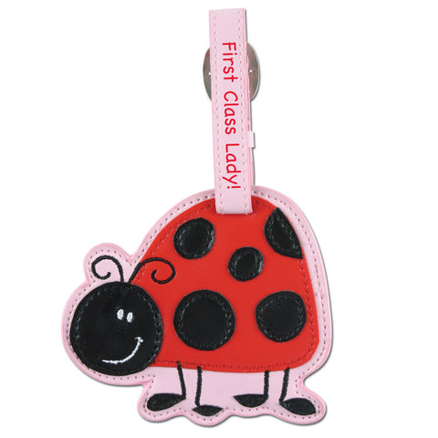 Stephen Joseph Kids Ladybug Luggage Tag
