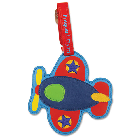 Stephen Joseph Kids Aeroplane Luggage Tag