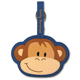 Stephen Joseph Kids Monkey Luggage Tag
