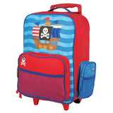 Stephen Joseph Kids Pirate Rolling Luggage