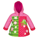Frog Girl Raincoat Size 4/5