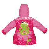 Stephen Joseph Kids Frog Girl Raincoat Size 3