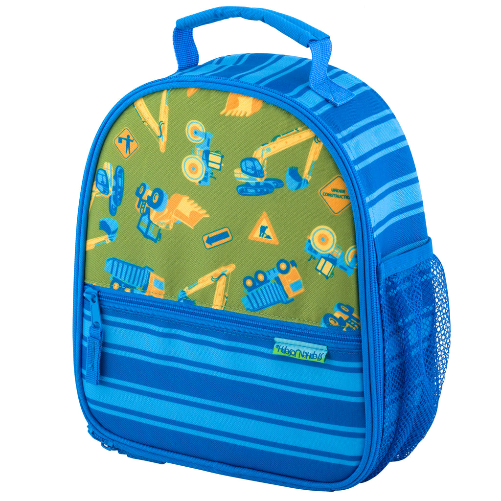 Stephen Joseph Kids Construction All Over Print Lunch Box
