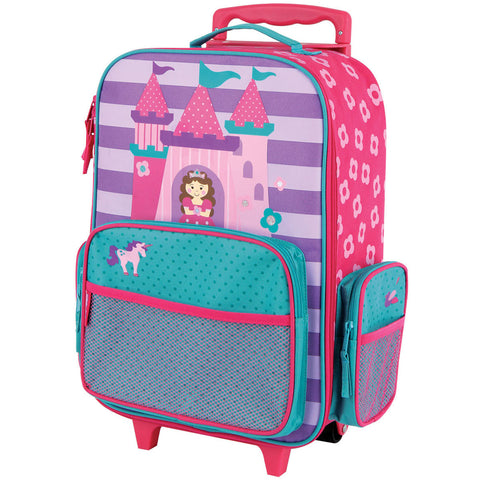 Stephen Joseph Kids Princess Castle Rolling Luggage