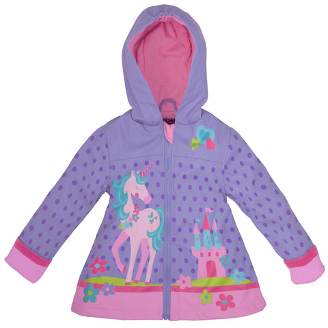 Stephen Joseph Kids Unicorn Raincoat Size 2