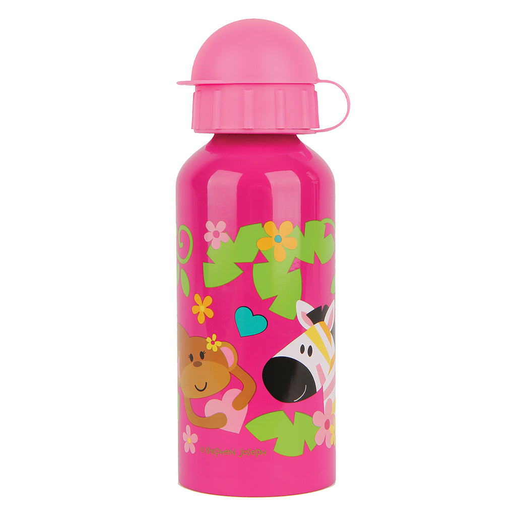 Stephen Joseph Kids Zoo Girl Drink Bottle