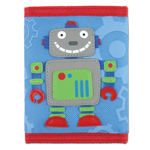 Stephen Joseph Kids Robot Wallet