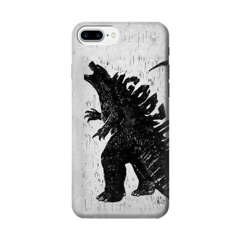 iPhone 8 Plus Case Free Shipping Godzilla Poster