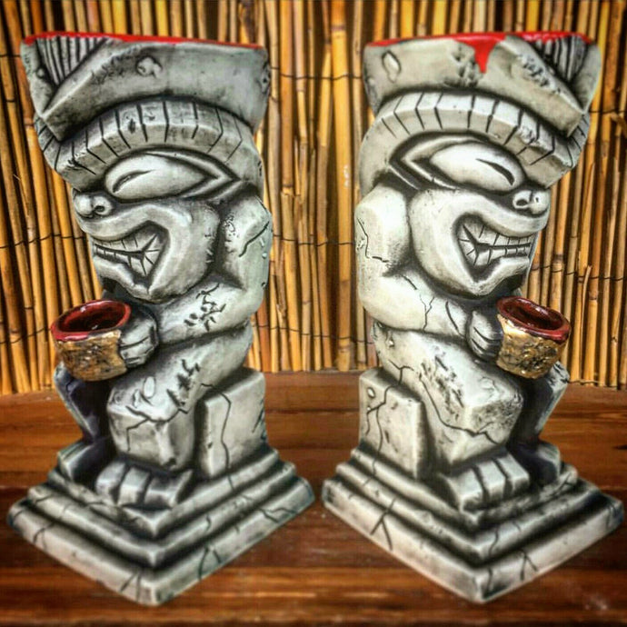 Over 1/4 Lava Stone Idol Ltd. Tiki Mugs Already Sold!