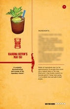 Load image into Gallery viewer, Kahuna Kevin's Tiki Cocktails Volume 2 Bartender's Guide with 52 Unique Polynesian Inspired Rum Drinks