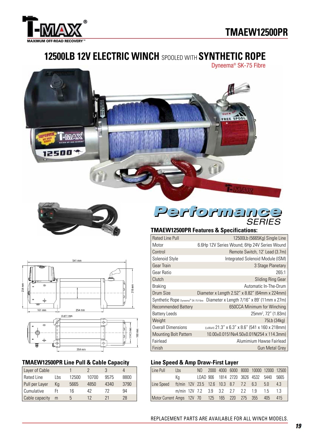 Tmax Tmaew12500 By T Max Tmaew12500pr Winchworld Winch Wiring Diagram After Sales Support Is Paramount To So Rest Assured When Purchasing A Youll Be Taken Care Of Well Beyond Your Purchase Date
