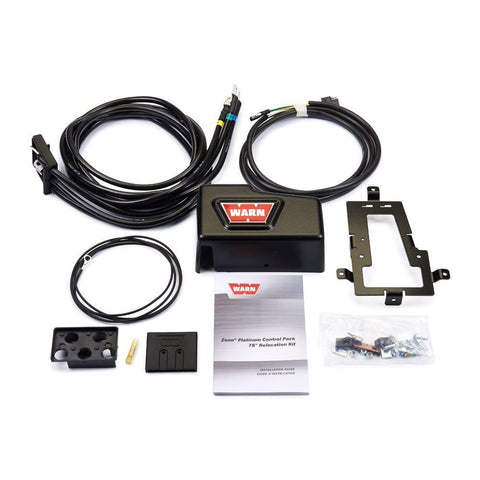 Image of Zeon Platinum Control Pack Relocation Kit with Bracket - Long (1980mm)
