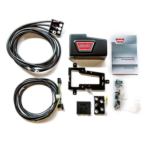 Zeon Platinum Control Pack Relocation Kit with Bracket - Long (1980mm)