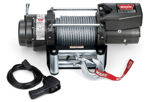 Warn 12v thermometric winch 27m wire rope, 16500ti-68801