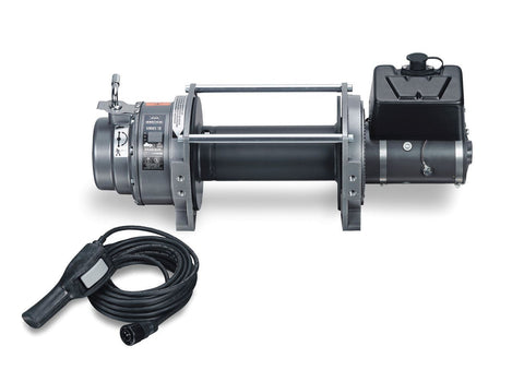 Image of Warn Industrial Dc Hoist 18000lbs Series 18 Dc