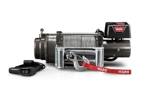 Image of Warn 12v self recovery winch 27m wire rope, m15000-47801