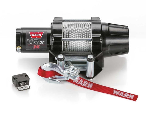 Warn VRX 35 ATV WINCH 15m Wire Rope
