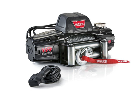Warn EVO 10 12V Recovery Winch 27m Wire Rope w/ 2in1 Wireless Remote