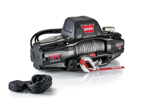 Image of Warn EVO 10S 12V Recovery Winch 27m Synthetic Rope w/ 2in1 Wireless Remote