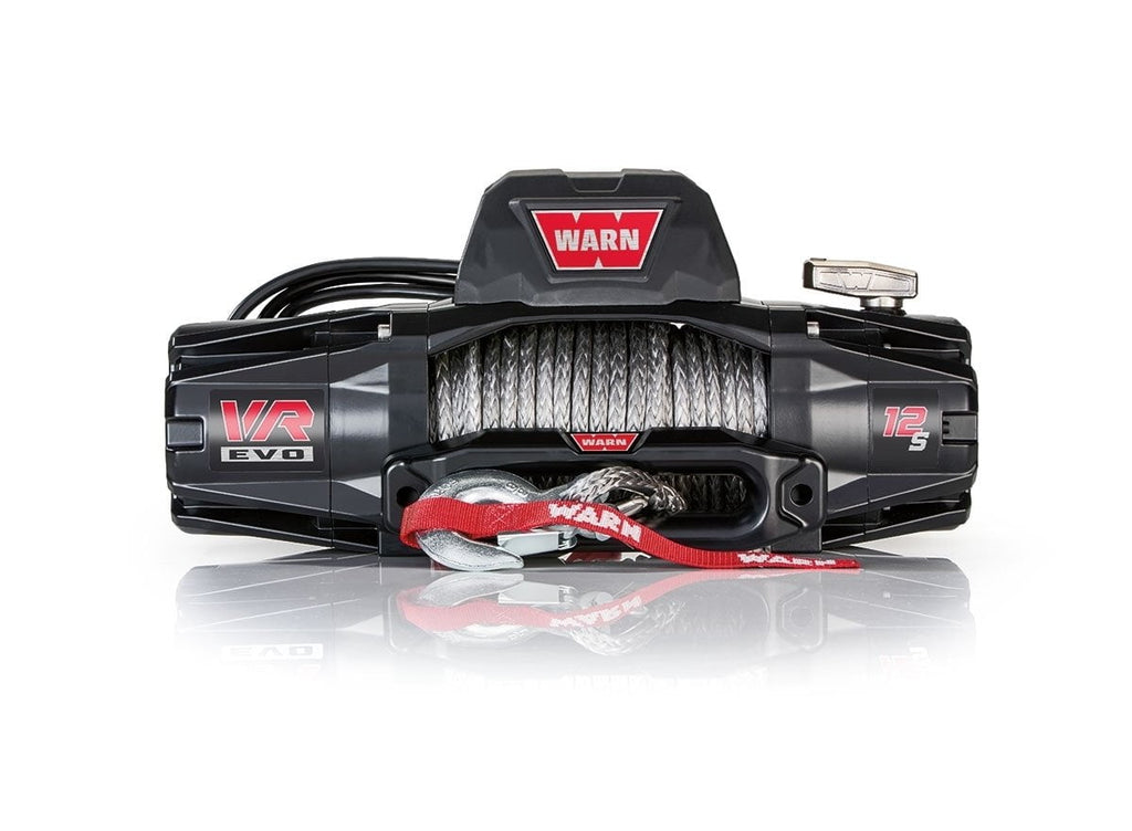 Warn EVO 12-S 12V Recovery Winch 27m Synthetic Rope w/ 2in1 Wireless Remote