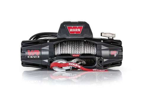 Image of Warn EVO 12-S 12V Recovery Winch 27m Synthetic Rope w/ 2in1 Wireless Remote