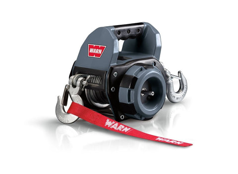 Warn drill powered portable winch 12.2m wire rope, 750lbs, 101570
