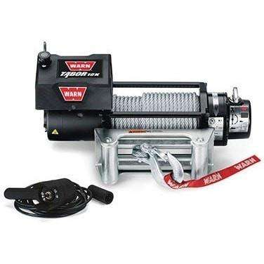Image of Warn, 12v self recovery winch 24m wire rope, 10k-88395 - Winchworld