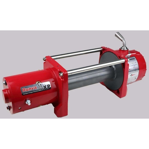 Runva 11XP 12V BARE Winch - IP67 Motor (RED)