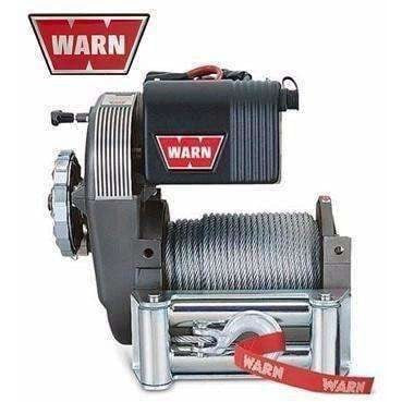 Image of Warn 12v high mount winch 46m wire rope, cem8274-50-88631