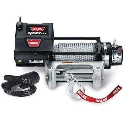 Image of Warn, 12v self recovery winch 24m wire rope, 12k-88400 - Winchworld