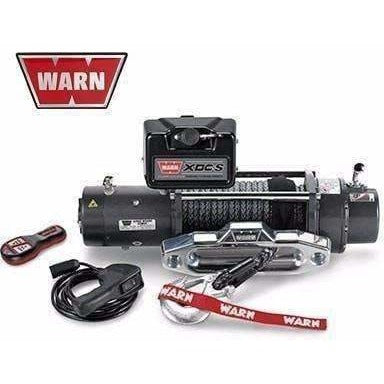 Warn 12v self recovery winch 24m synth. Rope w/ wireless remote, ce9500xdc-88750