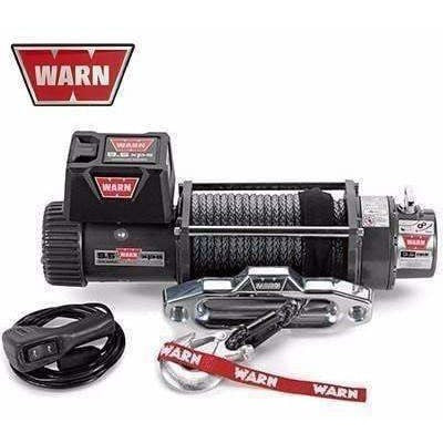 Warn 12v self recovery winch 24m synth. Rope w/ wireless remote, ce9500xp-88850