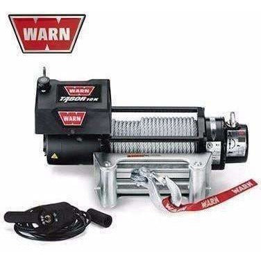 Image of Warn 12v self recovery winch 24m wire rope, 10k-88395
