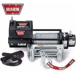 Warn 12v self recovery winch 24m wire rope, 12k-88400