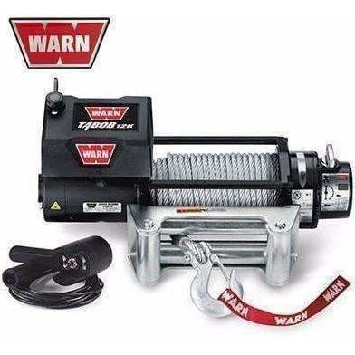 Image of Warn 12v self recovery winch 24m wire rope, 12k-88400