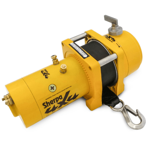 Image of Sherpa 4x4 'Grunter' 8000lbs Boat Trailer Winch