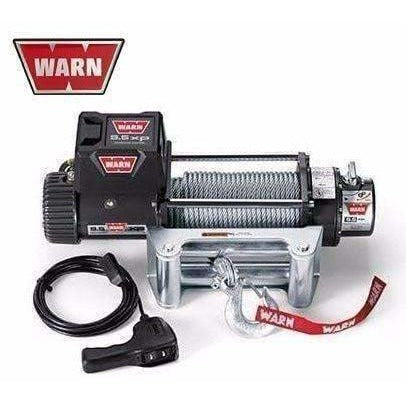 Warn 12v self recovery winch 38m wire rope w/ wireless remote, ce9500xp-86500