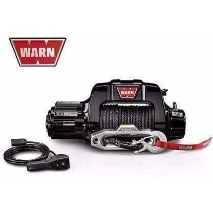 Warn 12v thermometric winch 30m synth. Rope w/ wireless remote, ce9500cti-95050